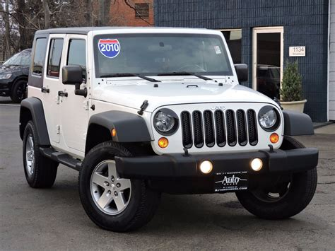2010 Jeep Wrangler Unlimited used 2010 jeep wrangler unlimited islander at auto house