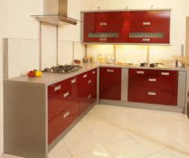 kitchen corner design for furniture glossy red color wth grey wonderful cabinet ideas