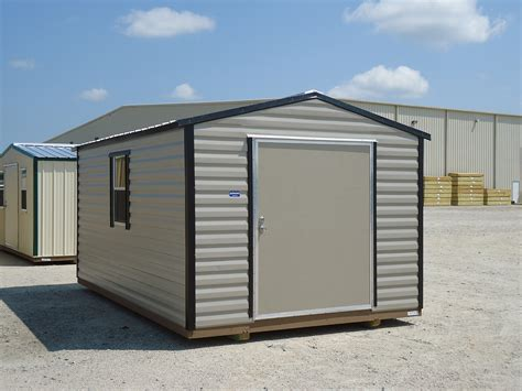 Metal Shed Storage by Carports Barns Garages And Sheds Factory Direct