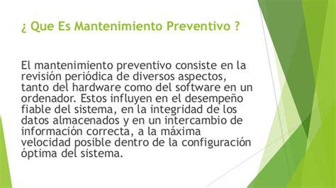 que es layout en mantenimiento que es mantenimiento preventivo de software y hardware