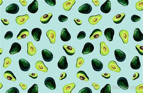 Avocado Pattern quot avocado pattern quot laptop skins by bekkacbell redbubble