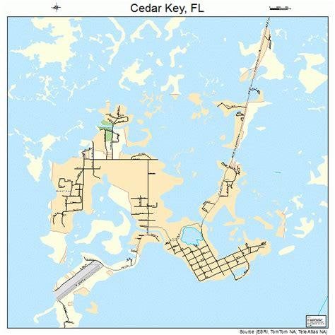 cedar key florida map 1211225
