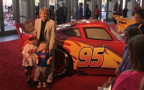 owen wilson cars cars 3 owen wilson on his kids encouragement family