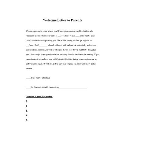 Parent Letter Communication Tips For Teachers On How To Best Maintain
