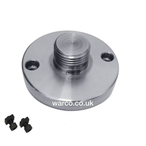 rotary table chuck adapter plate hv4 4 quot rotary table chuck adapter backplate boxford