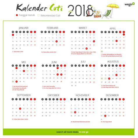 Kalender 2018 Dan Libur Nasional Hari Libur Nasional Liburan Sekolah