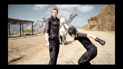 Final Fantasy XV ? Weird photo with Ignis and Noctis