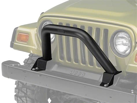 jeep light bar grill camber fabrications by mbrp wrangler black front