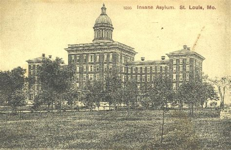 St Louis County Mo Records St Louis State Hospital Historic Asylums