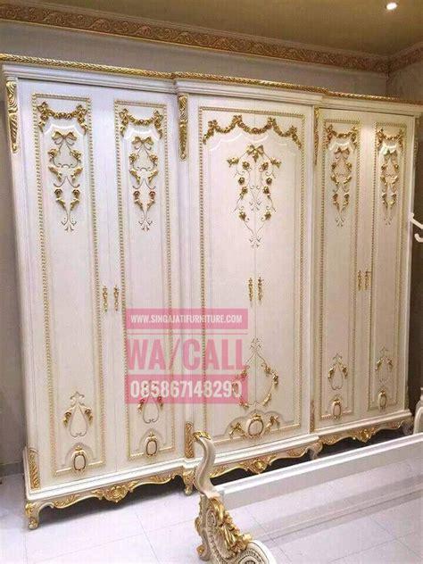 Almari Jati 4 Pintu almari pakaian 4 pintu dan 6 pintu singa jati furniture