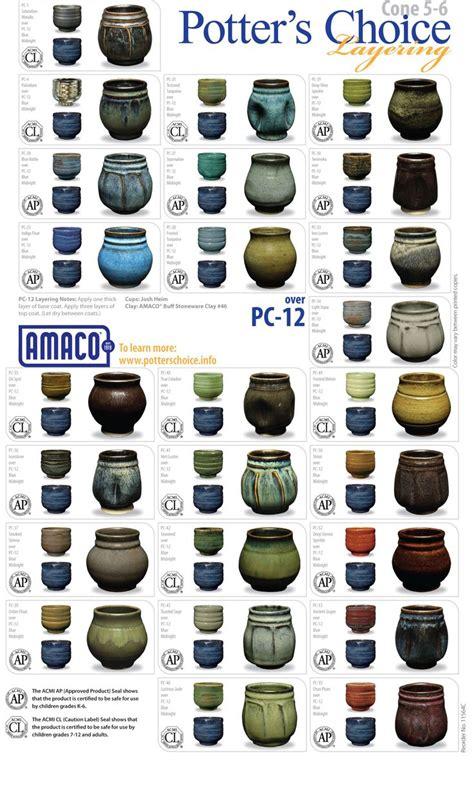 amaco glazes 264 best images about pottery glaze designs on