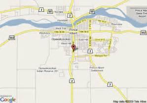 map of ramada prince albert prince albert