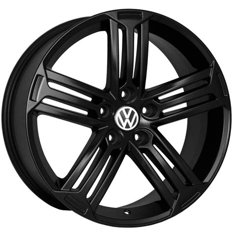 white volkswagen passat black rims 18x8 45 vw r style 5x112 matt black wheel fit vw jetta
