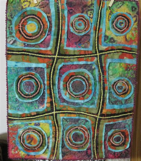 Stitch Quilts by Stitch And Slash Wallhanging