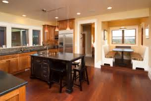 Kitchen Island Track Lighting 34 Kitchens With Dark Wood Floors Pictures