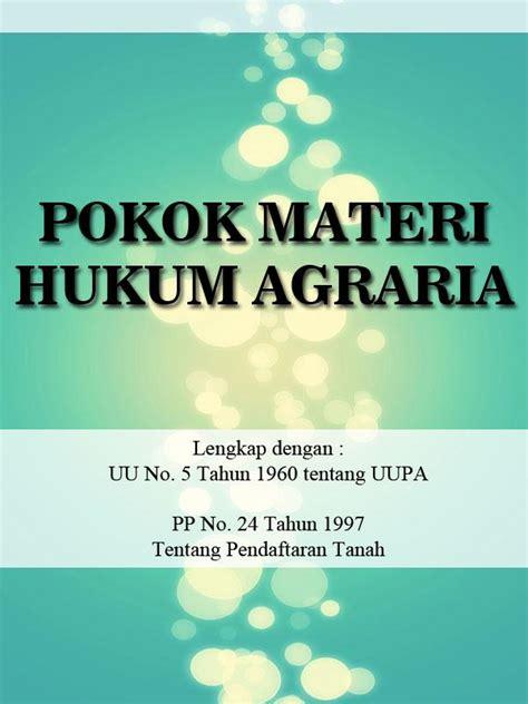 Hukum Agraria Jilid 1 pokok materi hukum agraria 1 apk android books reference التطبيقات