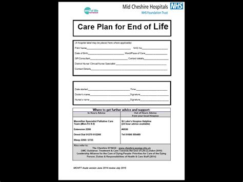 advance care plan template collection of solutions teaching care plan exles