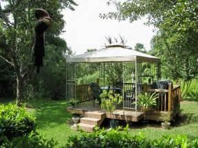 Build A Simple Fire Pit - 27 garden gazebo design and ideas inspirationseek com
