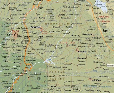 amritsar maps amritsar punjab map