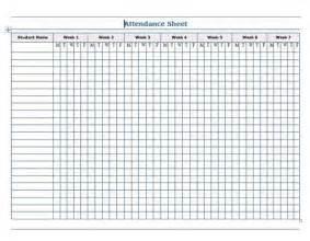 Attendance sheet word template microsoft word templates