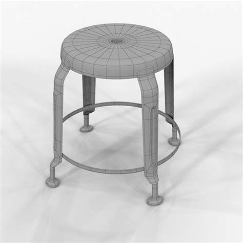 Stools Definition by Stool Define Gold By Doctor House 3d Model Max Cgtrader