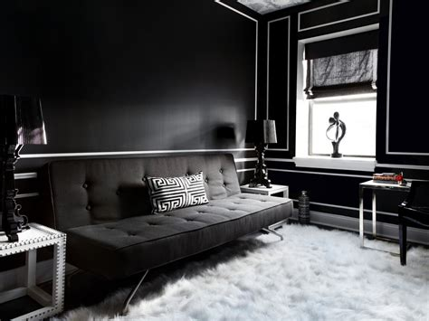 room with black walls danielle colding s design portfolio hgtv design hgtv