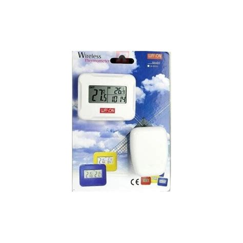 watson w 8685 wireless linked indoor outdoor thermometer