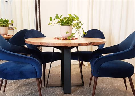 solid victorian ash  dining table  black cross