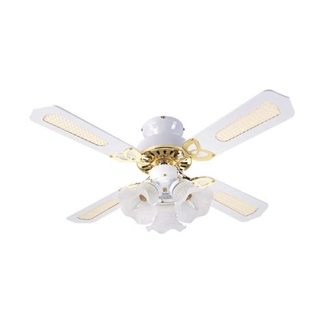 ceiling fan with cord fantasia eurofans 36 inch pull cord white and brass