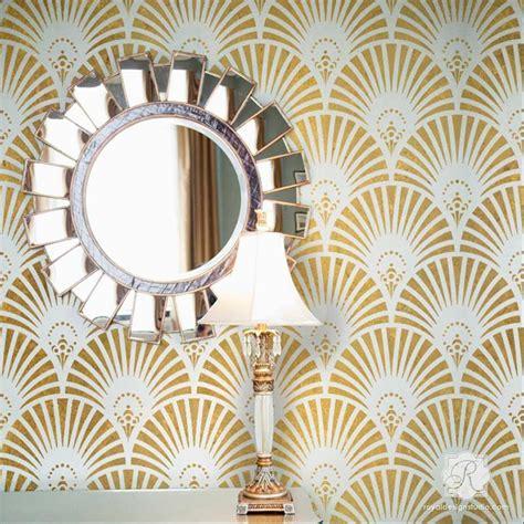 deco wall decor gatsby glam deco wall stencil deco wall wall