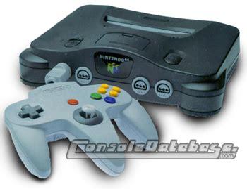 nintendo 64 console nintendo 64 console information