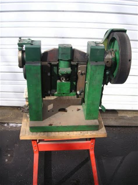 bench punch press bench mounted sheet metal hole punch