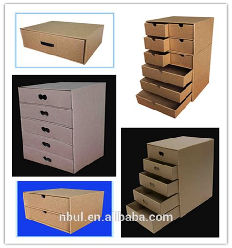 popular fancy eco friendly paper file cabinet drawer