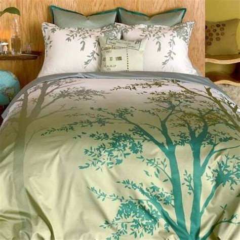 comforters with trees on them amelie tree silhouette duvet set 76 72 bedroom envy