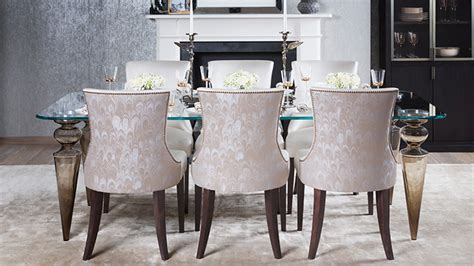 luxury dining tables and chairs luxury upholstered dining chairs designed and handmade in
