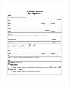 residential rental application template 19 apartment rental agreement templates free sle