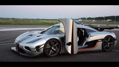koenigsegg one top speed koenigsegg one 1 sets 0 300 0 km h record top