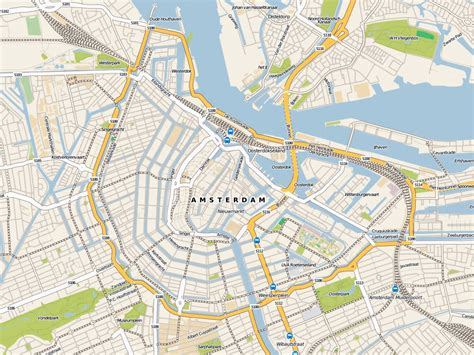 map city maps of amsterdam detailed map of amsterdam in