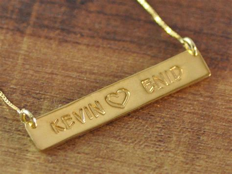 custom gold name necklace the sweet gold name necklace