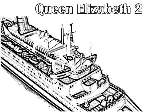 queen mary coloring page queen mary 2 free coloring pages