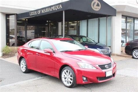 Massapequa Lexus Service by Sell Used 2011 Lexus Is 250 4dsd In Massapequa Park New