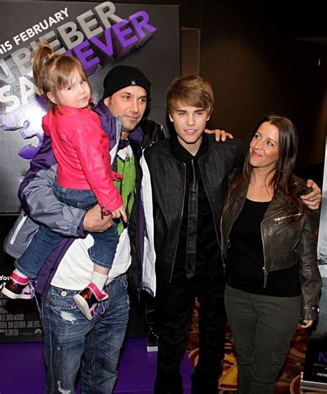 justin bieber biography his family justin bieber joined by family at toronto premiere of