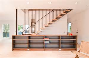 Living Room Designs For Small Spaces modern stair design build blog