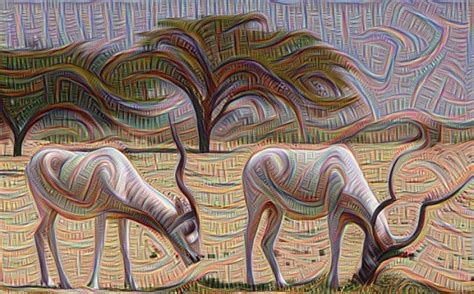 painting network s neural network creates trippy