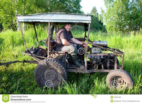 homemade tractor home made tractor stock image image of agricultural