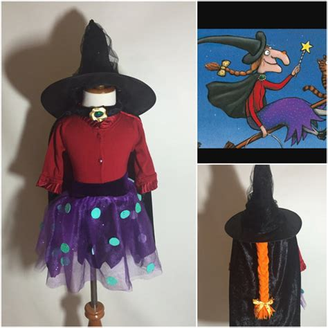 room on the broom costume room on the broom toddler skirt hat and cape