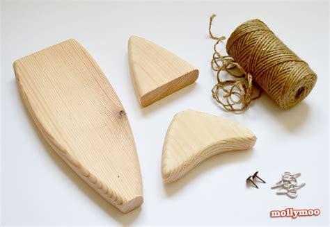 mollymoocrafts wooden fish craft kits adults