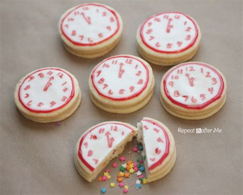 new year ribbon cookies 25 new year s ideas