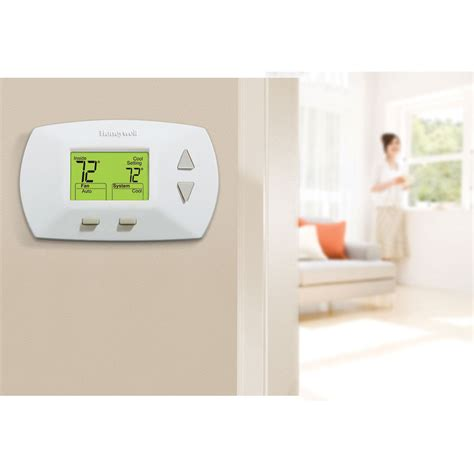 honeywell home comfort honeywell rthl3550d1006 non programmable thermostat