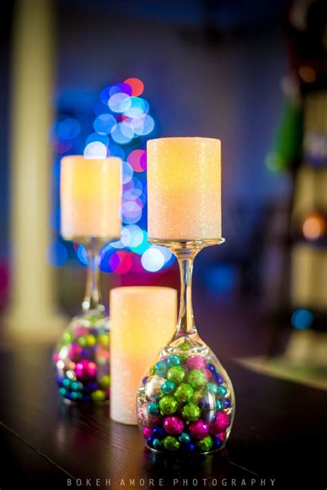 diy christmas wine glass decor 20 jaw dropping diy